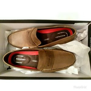 ce7e51843ee Rockport Shoes - Mens Rockport Bayley Penny Loafers brown sz 13